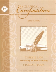 Classical Composition Book IX - Student Guide