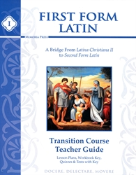 First Form Latin Transition Course - Teacher Guide