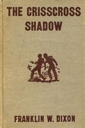 THE CRISSCROSS SHADOW by Franklin Dixon #32 Vintage Hardy Boys Book 1969