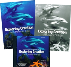 Apologia: Exploring Creation With Marine Biology - Home School Kit