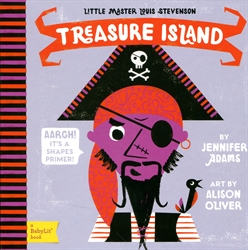 Treasure Island - A BabyLit Shapes Primer
