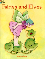 Fairies and Elves - Coloring Book
