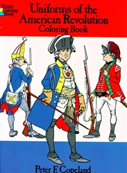 Uniforms of the American Revolution - Coloring Book