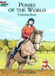 Ponies of the World - Coloring Book