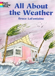 All About Weather - Coloring Book