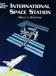 International Space Station - Coloring Book