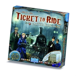 Ticket to Ride Map Collection: Volume 5 - United Kingdom / Pennsylvania