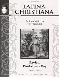 Latina Christiana Book I - Review Sheets Answer Key