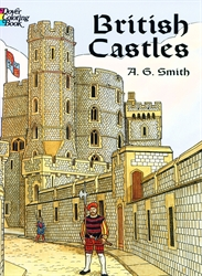 British Castles - Coloring Book