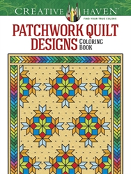 Creative Haven Patchwork Quilt Designs - Coloring Book