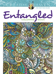 Creative Haven Entangled  - Coloring Book