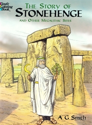 Story of Stonehenge and Other Megalithic Sites - Coloring Book