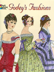 Godey's Fashions - Coloring Book