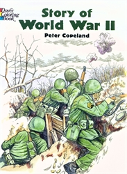 Story of World War II - Coloring Book