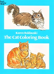 Cat - Coloring Book