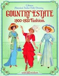 Historical Sticker Dolly Dressing: Country Estate