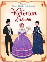 Historical Sticker Dolly Dressing: Victorian Fashion