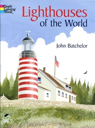 Lighthouses of the World - Coloring Book