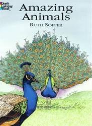 Amazing Animals - Coloring Book