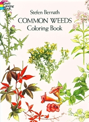 Common Weeds - Coloring Book