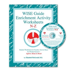 WISE Guide Enrichment Activity Worksheets N-Z
