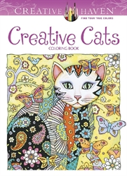 Creative Haven Creative Cats - Coloring Book