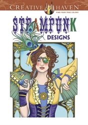 Creative Haven Steampunk Designs - Coloring Book