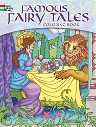 Famous Fairy Tales - Coloring Book