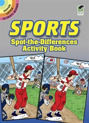 Sports Spot-the-Difference - Activity Book