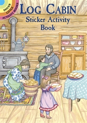 Log Cabin - Sticker Activity Book