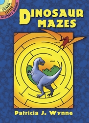 Dinosaur Mazes - Activity Book