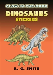 Glow-in-the-Dark Dinosaurs - Stickers