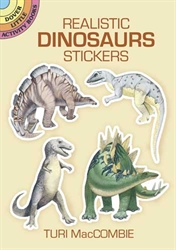 Realistic Dinosaurs - Stickers