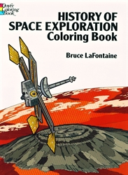 History of Space Exploration - Coloring Book