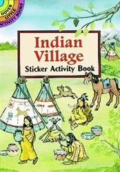Indian Village - Sticker Activity Book