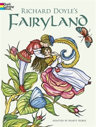 Richard Doyle's Fairy Land - Coloring Book