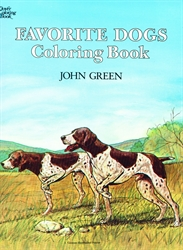 Favorite Dogs - Coloring Book