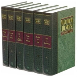Matthew Henry's Commentary in Six Volumes