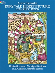 Fairy Tale Hidden Picture - Coloring Book