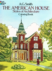 American House - Coloring Book