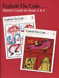 Explode the Code 3 & 4 - Teacher's Guide