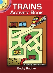 Trains - Activity Book