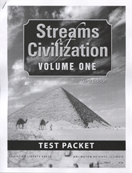 Streams of Civilization Volume One - Tests
