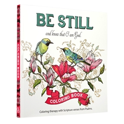Be Still - Coloring Book