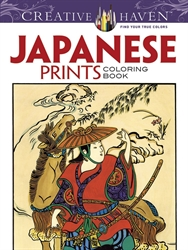 Creative Haven Japanese Prints - Coloring Book