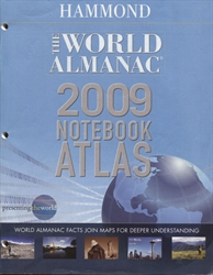 World Almanac 2009 Notebook Atlas