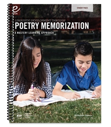 Linguistic Development Through Poetry Memorization - Student Pages