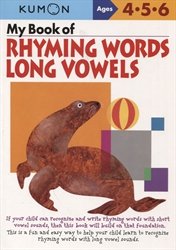 My Book of Rhyming Long Vowels
