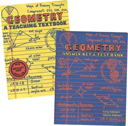 Teaching Textbooks Geometry - Textbook & Answer Key (old)