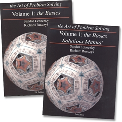Art of Problem Solving Volume 1 - Text & Solutions